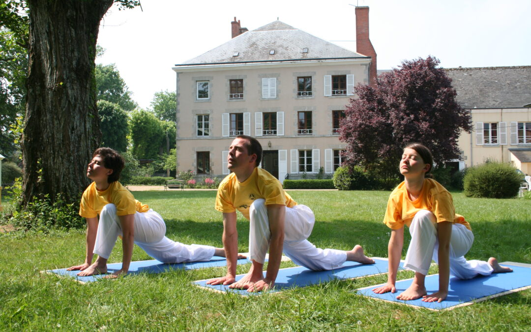 Lashram Di Yoga Sivananda Orleans Francia Sivananda Yoga Roma